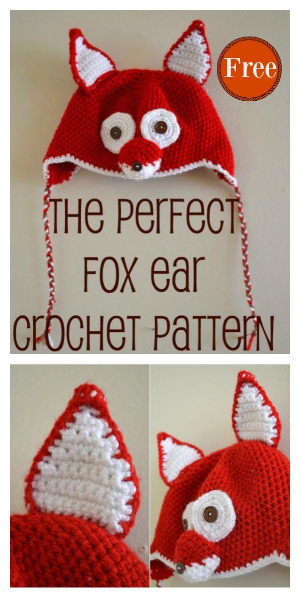 Fox Hat Free Crochet Pattern Cool Creativities