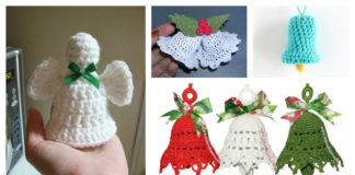 Free Christmas Bells Ornaments Crochet Patterns