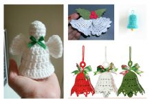 Free Christmas Bell Ornament Crochet Patterns