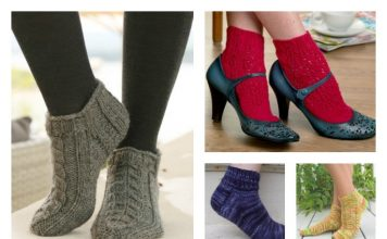 Knitted Ankle Socks Patterns Free : Knit Archives - Page 2 of 5 - Cool Creativities