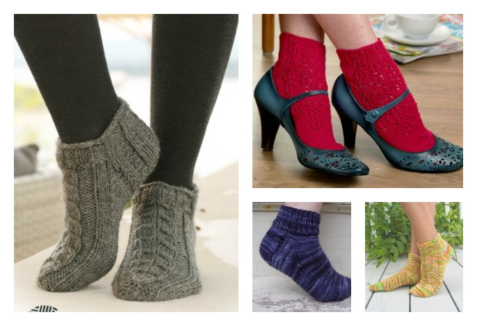 Free Knit Ankle Sock Patterns Cool Creativities