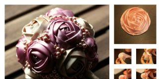 Make Ribbon Roses