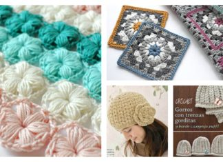 Beautiful Puff Stitch Patterns I Can't Wait to Try
