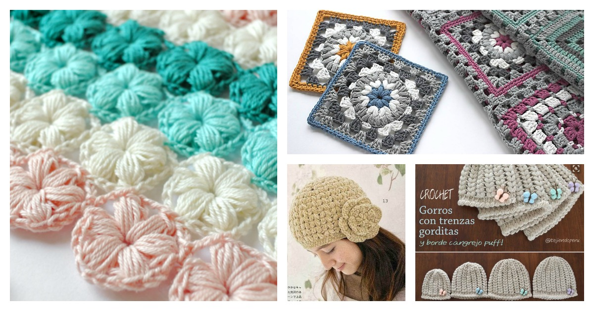 Beautiful Puff Stitch Patterns I Cant Wait To Try