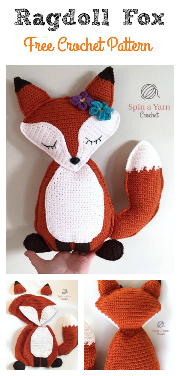 Ragdoll Fox Free Crochet Pattern Cool Creativities