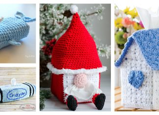 Tissue Cozy Free Crochet Patterns