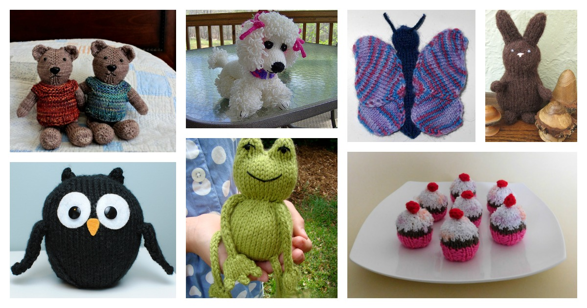 Best Christmas Toys 2017 >> 10+ Cute Knitted Toy Free Patterns That Kids Will Love