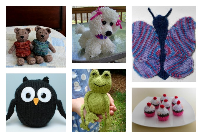 10 Cute Knitted Toy Free Patterns That Kids Will Love