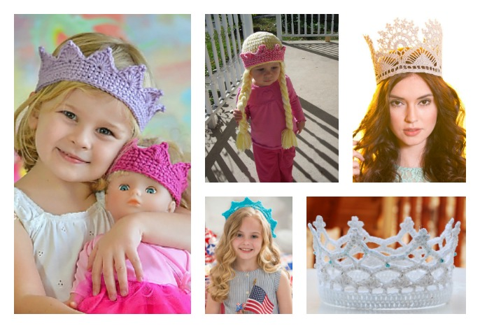 5 Royal Crochet Crown Free Patterns Cool Creativities