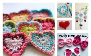 6 Valentine's Day Heart Free Crochet Patterns You'll Love