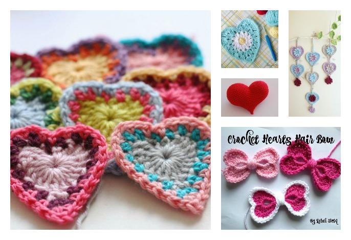 Free Crochet Patterns Valentines Day : 8 Valentines Day Heart Free Crochet Patterns Youll Love