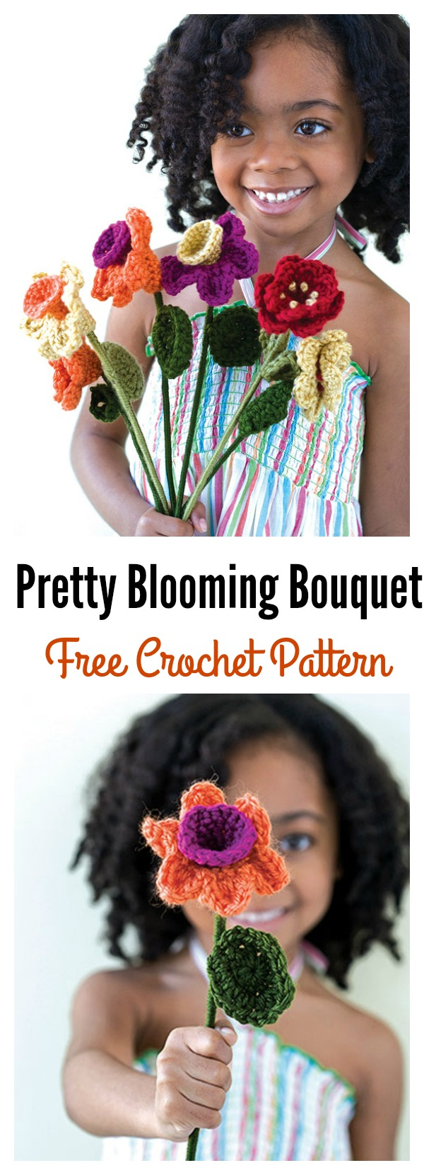 Crochet Blooming Bouquet Free Pattern