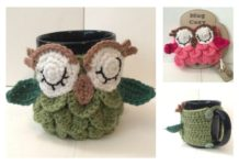 Crochet Owl Mug Cozy Free Patterns