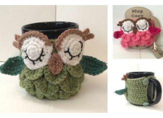 Crochet Owl Mug Cozy Free Patterns
