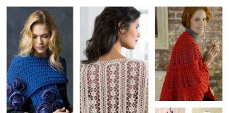 Valentine's Day Crochet Shawl Free Patterns