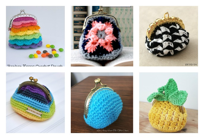 Crocheted Coin Purse Free Patterns -