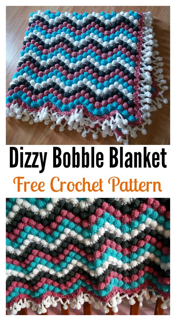 Beautiful Bobble Stitch Crochet Patterns And Projects