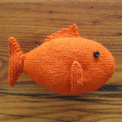 Knit Fish Free Pattern
