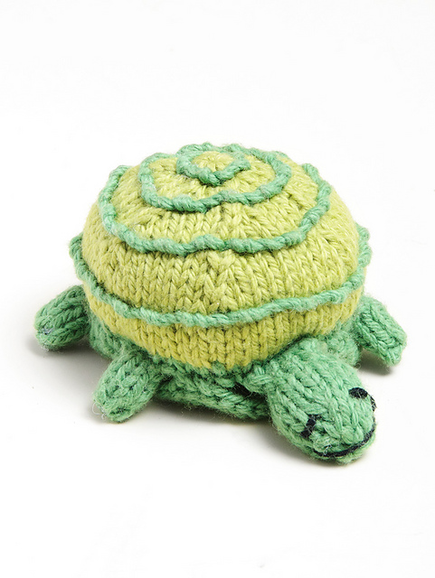 Knitted Turtle Free Pattern