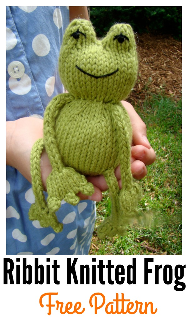 Ribbit Knit Frog Free Pattern