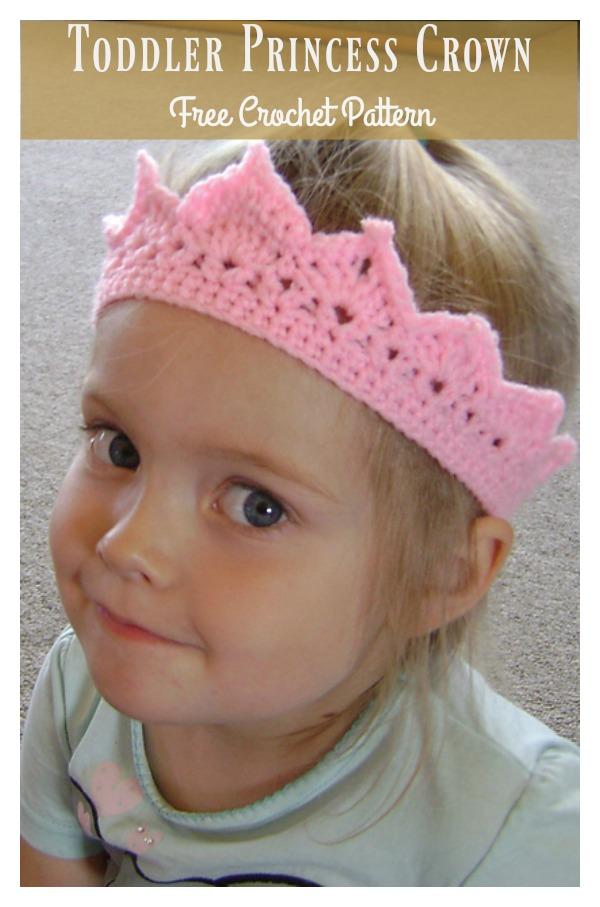 Toddler Princess Crown Free Crochet Pattern Cool Creativities