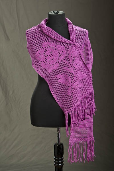 Valentine s day crochet shawl free patterns