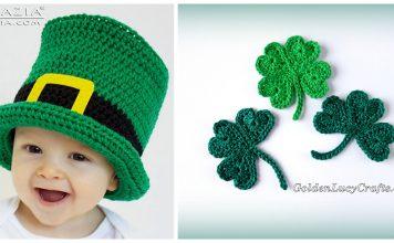 10+ St. Patrick's Day Crochet Free Patterns