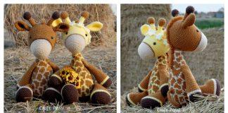 Adorable Crochet Giraffe Amigurumi Free Pattern