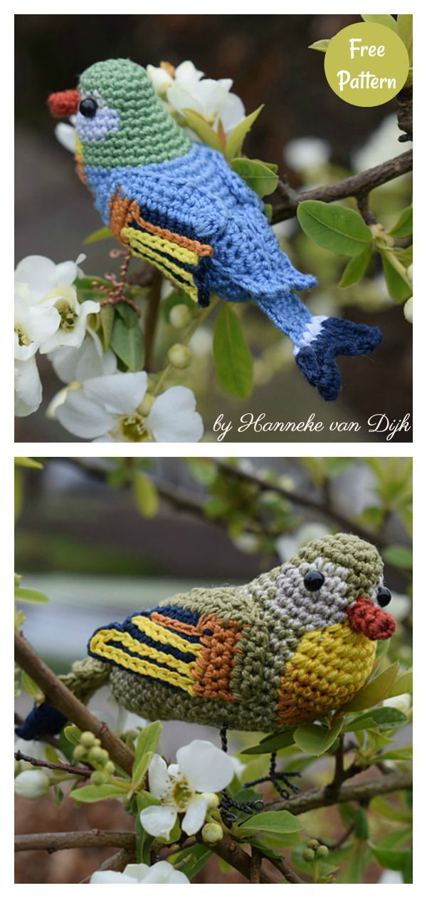 Crochet Bird Patterns Easy DIY Video | The WHOot | 1260x600