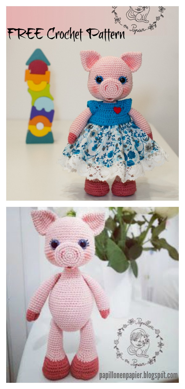 Peppa Pig Crocheted Hat | crafty kiwi chick | 1260x600