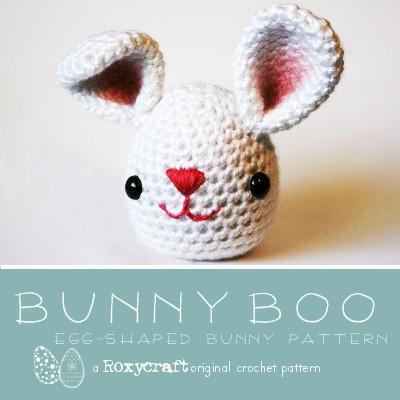 Crcochet Amigurumi Easter Bunny Boo Free Pattern