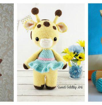 Crochet Adorable Hearty Giraffe Free Pattern