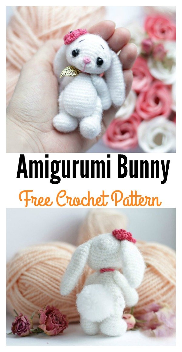 Crochet Amigurumi Bunny Free Pattern Cool Creativities