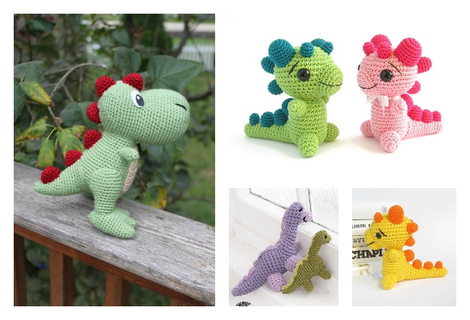 Crochet Amigurumi Dinosaur Free Patterns Cool Creativities