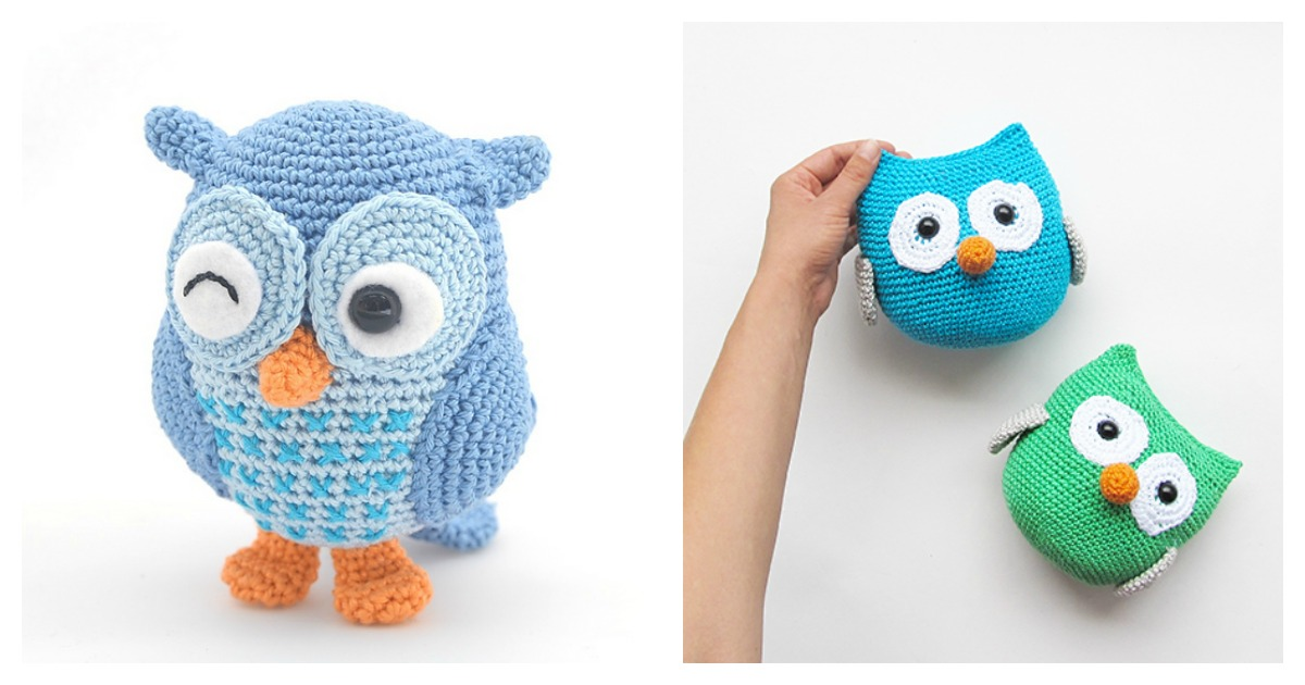 Crochet Amigurumi Owl Free Patterns