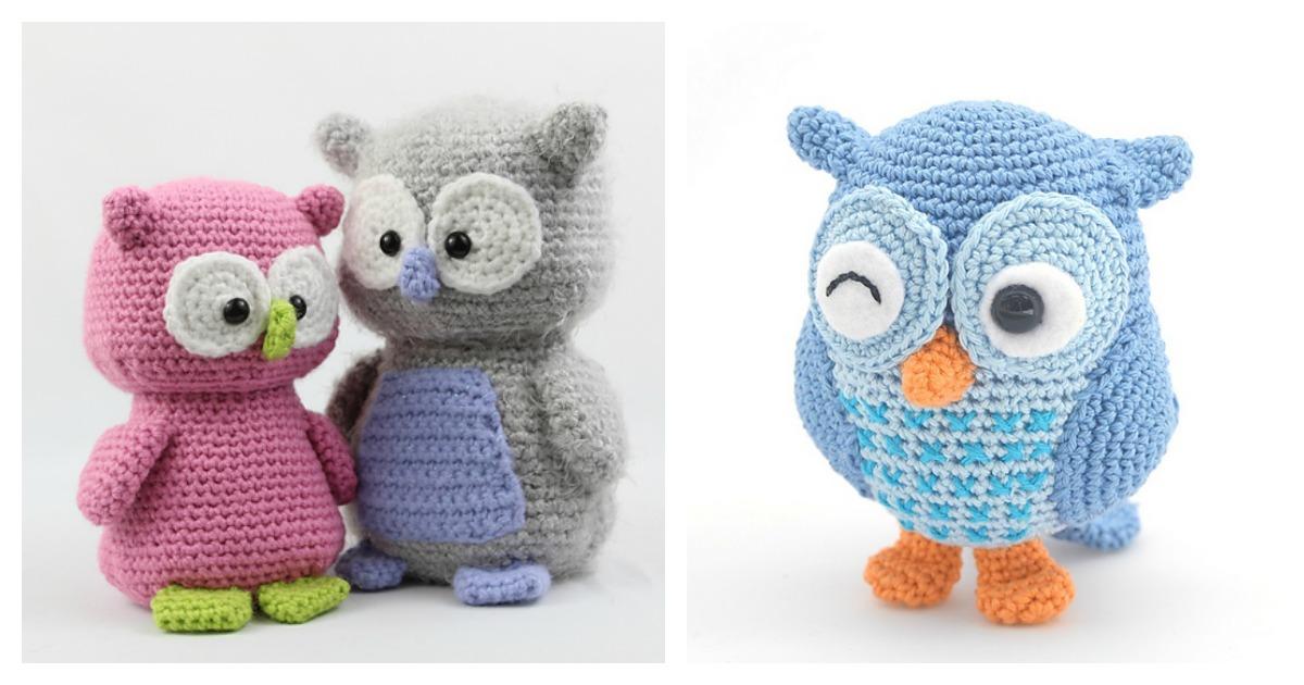 Barn Owl - Amigurumi Pattern - Delicious Crochet | 630x1200