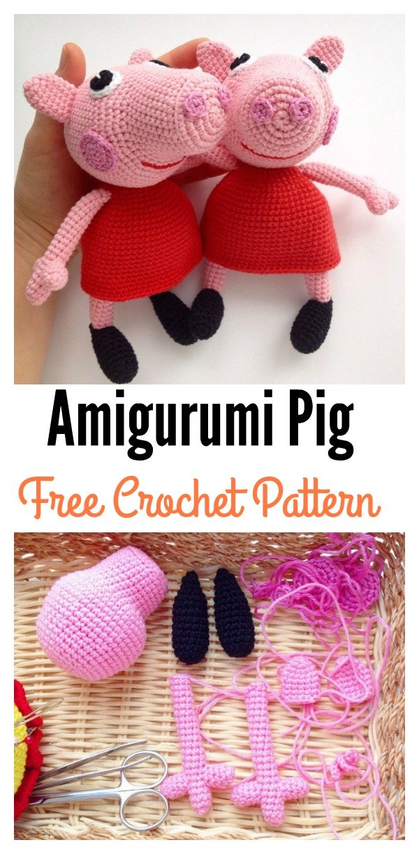 Amigurumi Crochet Wikipedia : Free Crochet Pattern For Peppa Pig apexwallpapers.com