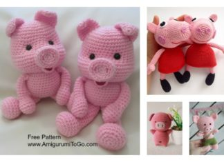 Crochet Amigurumi Pig Free Patterns