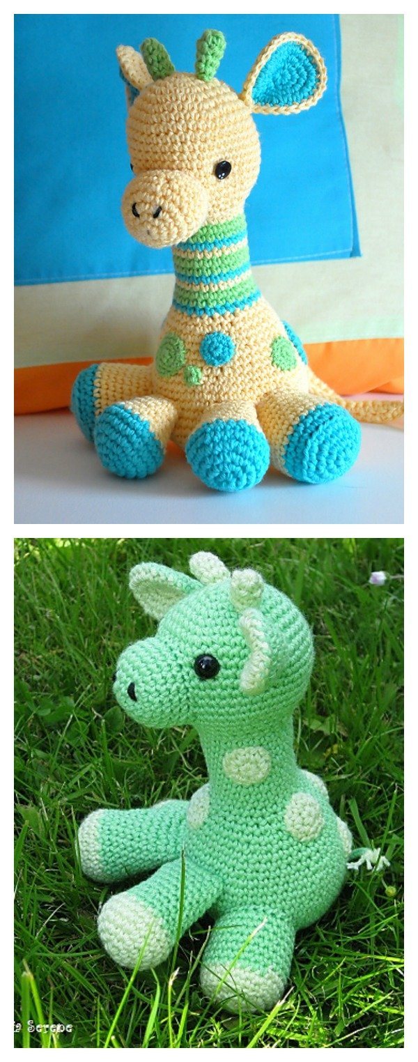 Ravelry: Baby Giraffe Amigurumi pattern by Courtney Deley | 1524x600