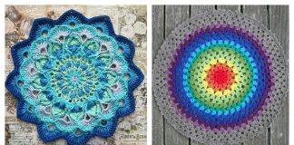 Crochet Colorful Mandala FREE Patterns