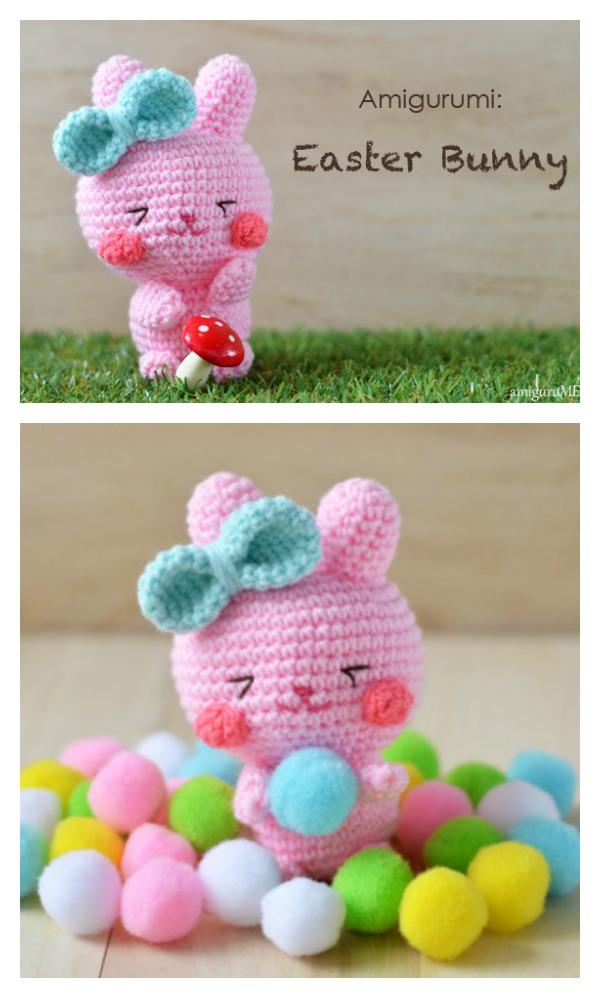 Crochet Easter Bunny Amigurumi Free Pattern