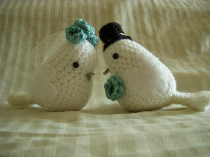 Crochet Lovebirds Amigurumi Free Pattern