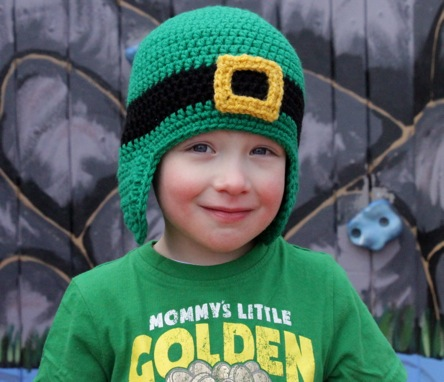 Crochet Pattern Leprechaun Hat : St Patricks Day Crochet Free Patterns