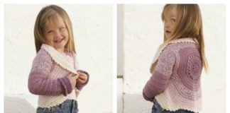 Crochet Circle Jacket Free Patterns