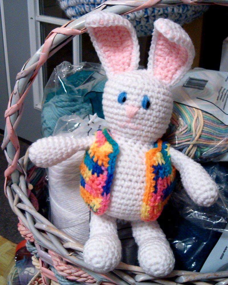 Crochet Rainbow Brite Bunny Amigurumi Free Pattern