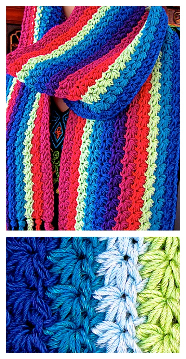 Beautiful Star Stitch Crochet Patterns and Projects