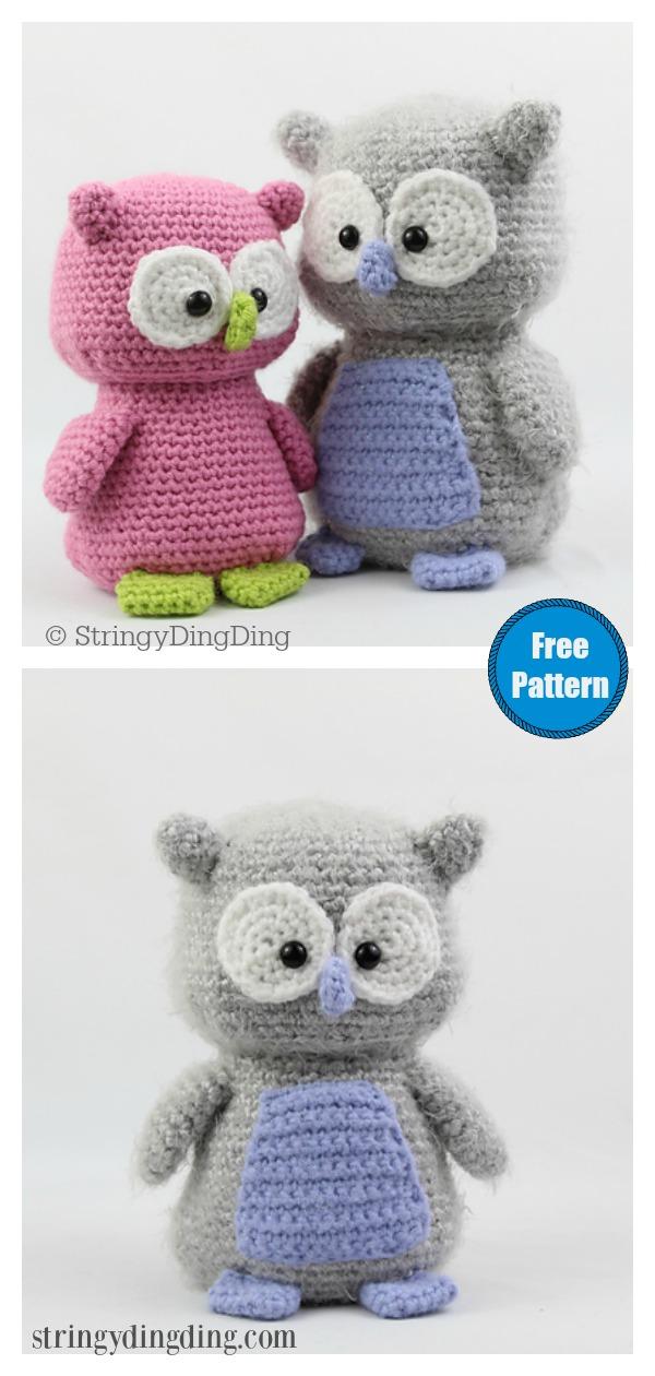 Owl Amigurumi Free Crochet Pattern