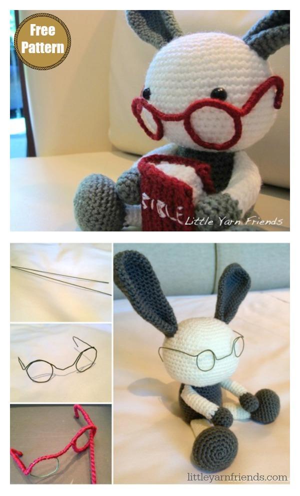 Lil' Granny Bunny Amigurumi Free Crochet Pattern