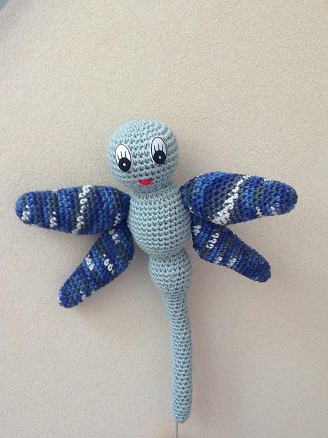 Crochet Dragonfly Amigurumi Free Pattern