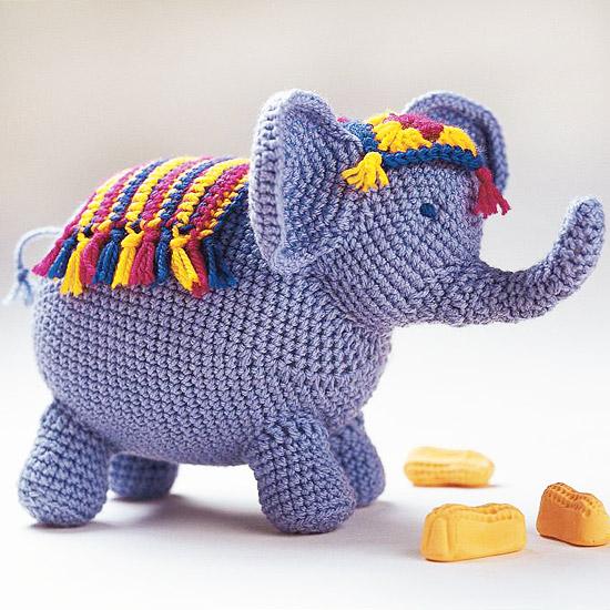 Adorable Crochet Elephant Amigurumi Free Pattern